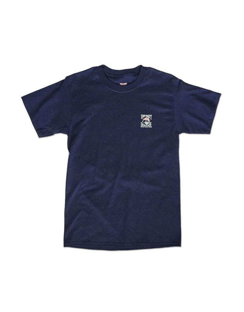 T-Shirt Patriot Dog Short Sleeve in Navy