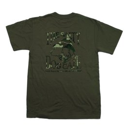 T-Shirt Camo Dog in Fatigue Green