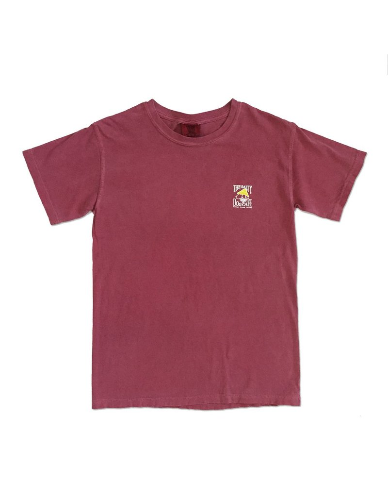T-Shirt Comfort Colors® Short Sleeve Tee in Crimson