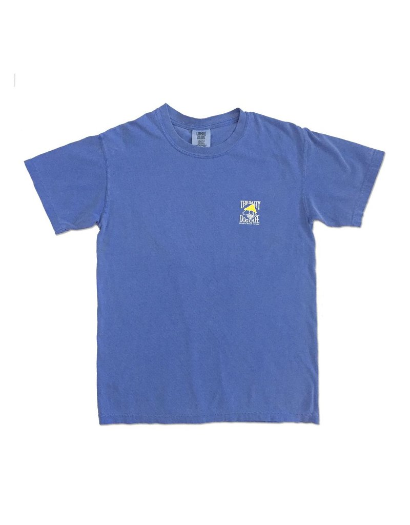 T-Shirt Comfort Colors® Short Sleeve Tee in Flo Blue