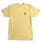 "T-Shirt ""Be Cool"" Turtle in Banana Cream"