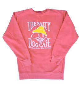 Sweatshirt Comfort Colors® Sweatshirt in Watermelon