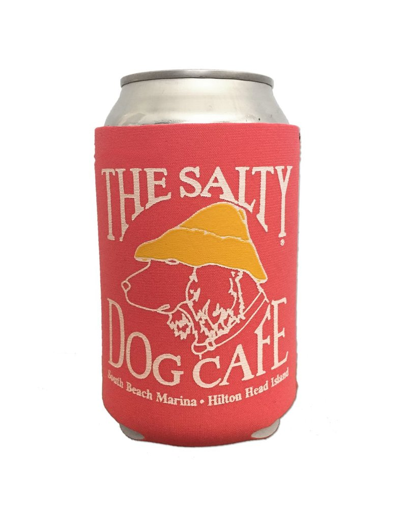 Salty Dog Can Holder in Coral