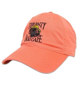Relaxed Twill Vintage Jake Hat in Coral