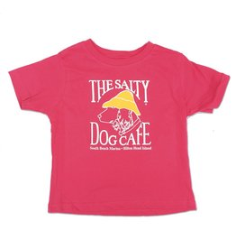 LAT Apparel Toddler Short Sleeve in Hot Pink