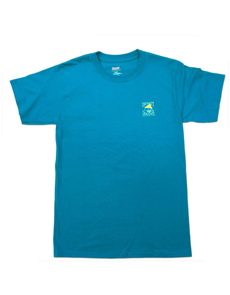 Apparel Hanes Beefy Short Sleeve in Teal