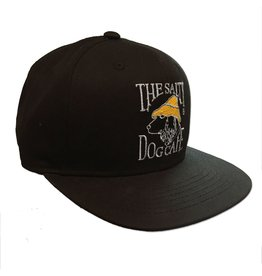 Fuel Flat Bill Snap Back in Black