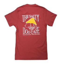 Salty Dog The Forever Tee in Rustic Red