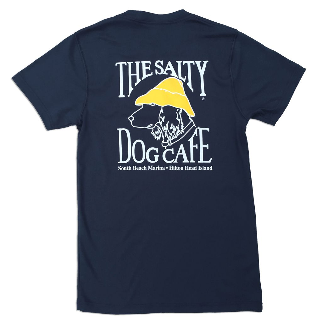 Salty Dog The Forever Tee in Nautical Navy