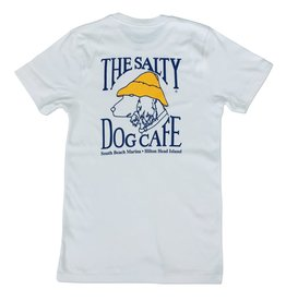 Salty Dog The Forever Tee in White Linen