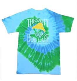 T-Shirt Tie-Dye Short Sleeve in Earth Swirl