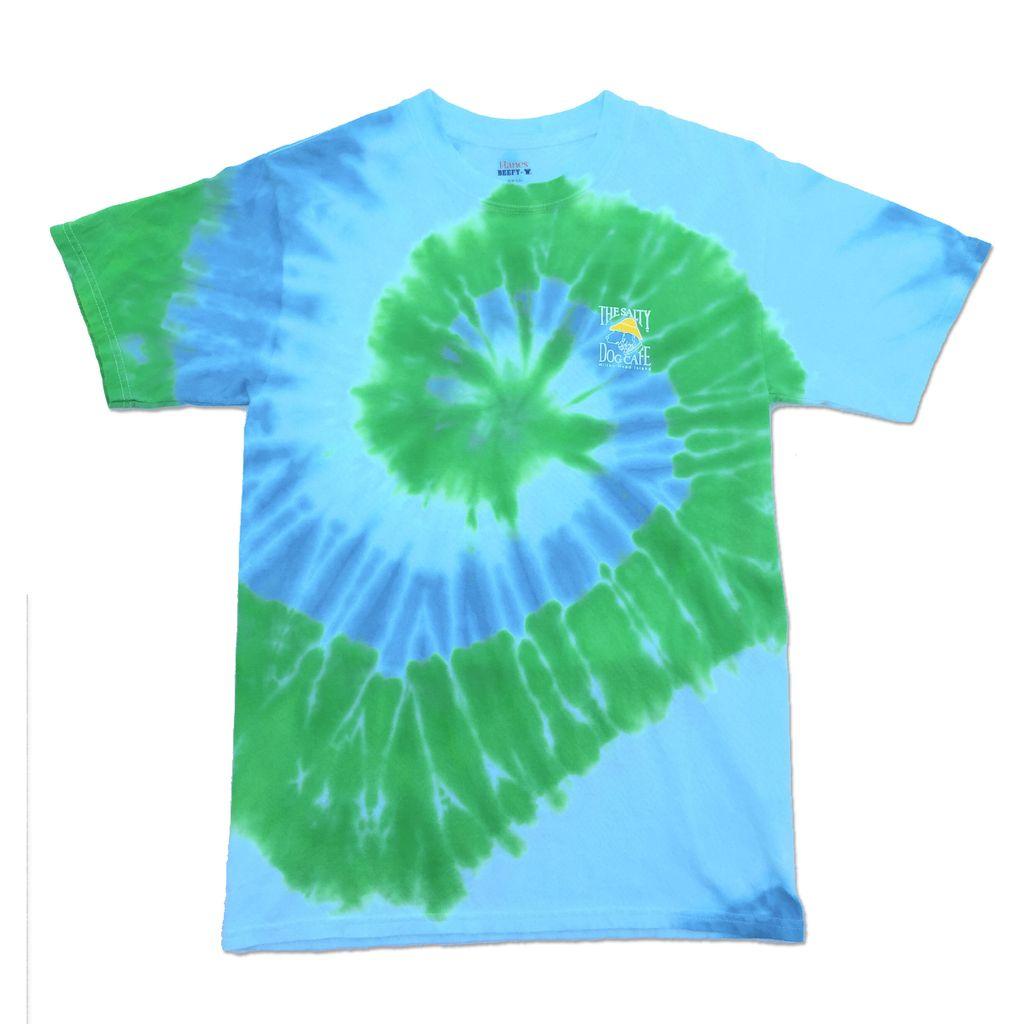 Hanes Tie-Dye Short Sleeve in Earth Swirl
