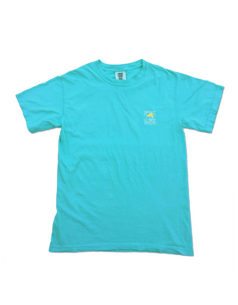 T-Shirt Comfort Colors® Short Sleeve Tee in Lagoon Blue