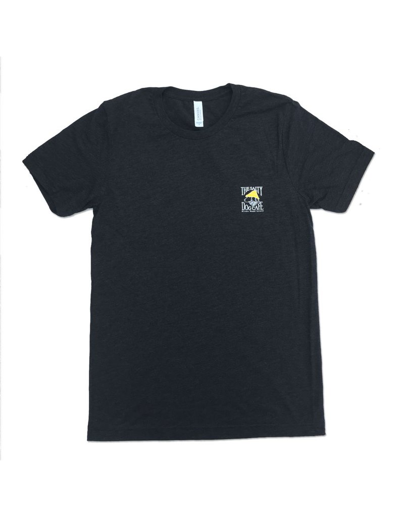 Canvas Tri-Blend Short Sleeve in Charcoal