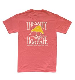 Apparel Hanes Beefy Short Sleeve in Charisma Coral