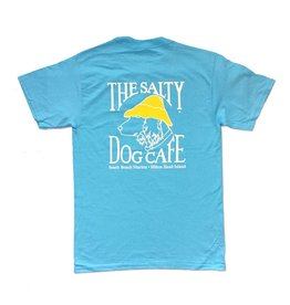 Apparel Hanes Beefy Short Sleeve in Blue Horizon