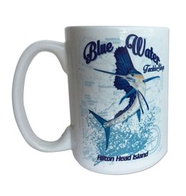 Salty Dog Blue Water Sailfish Mug