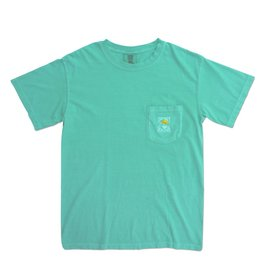 Comfort Colors Comfort Colors® Short Sleeve Pocket Tee in Chalky Mint