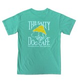 T-Shirt Comfort Colors® Short Sleeve Pocket Tee in Chalky Mint
