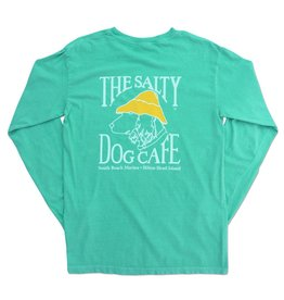 T-Shirt Comfort Colors® Long Sleeve in Chalky Mint