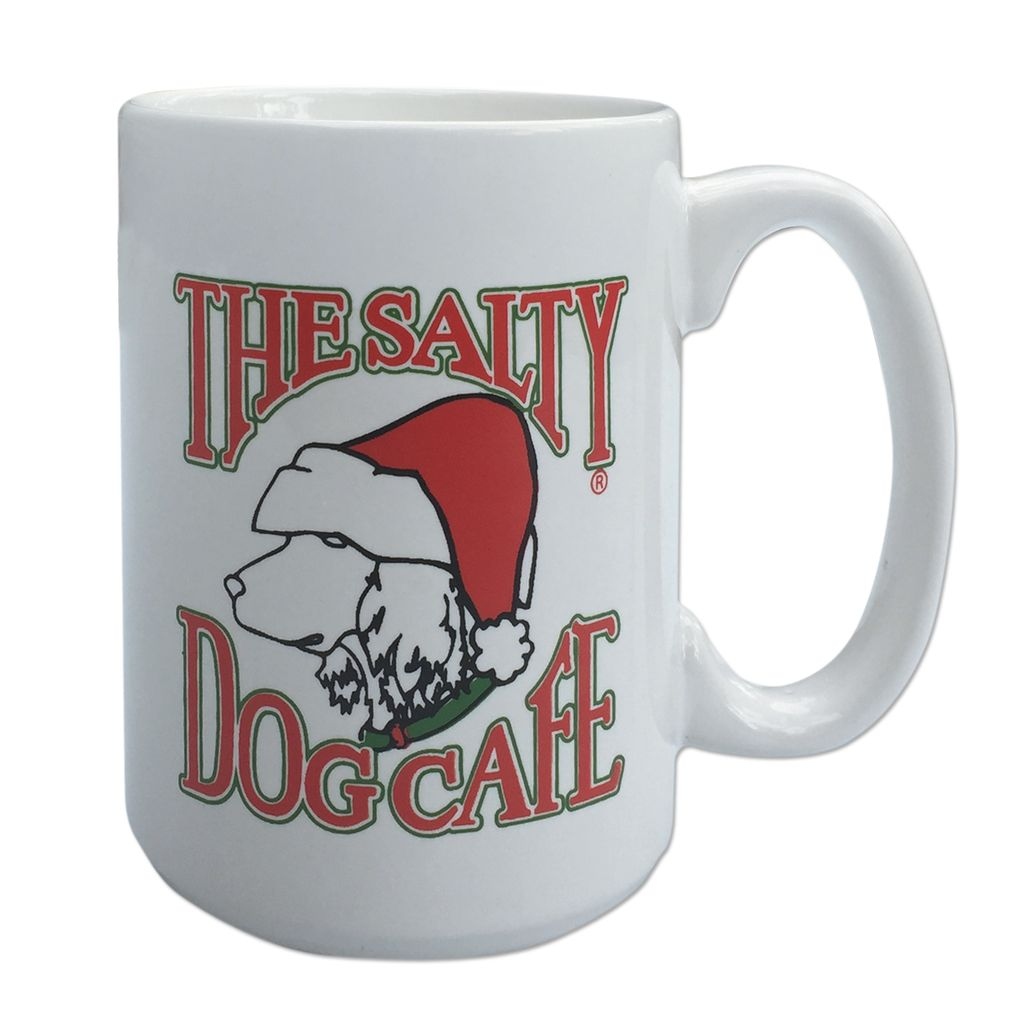 Salty Dog Santa Coffee Mug