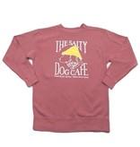 Sweatshirt Comfort Colors® Sweatshirt in Crimson