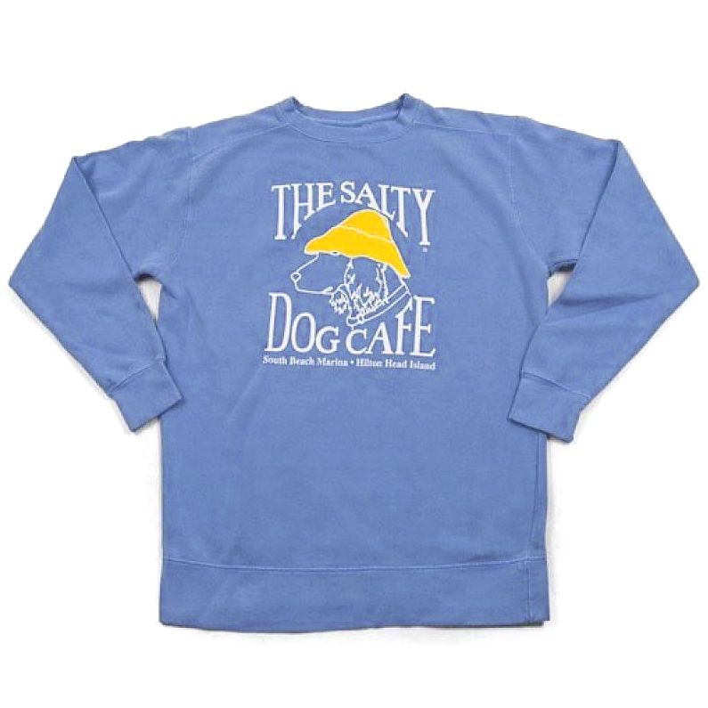 Comfort Colors Comfort Colors® Sweatshirt in Flo Blue