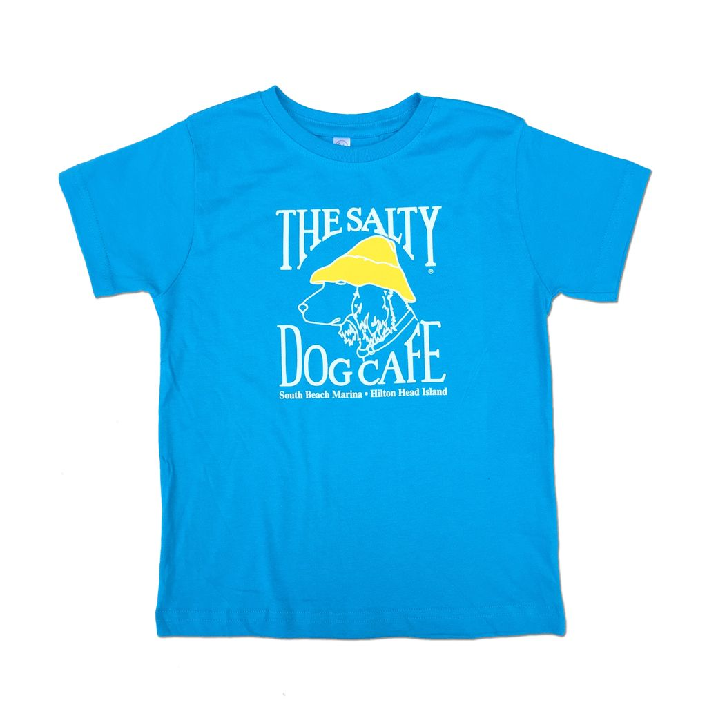 LAT Apparel Toddler Short Sleeve in Turquoise