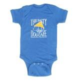 Infant Romper in Carolina Blue