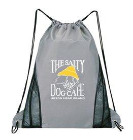 Product Drawstring Bag in Grey
