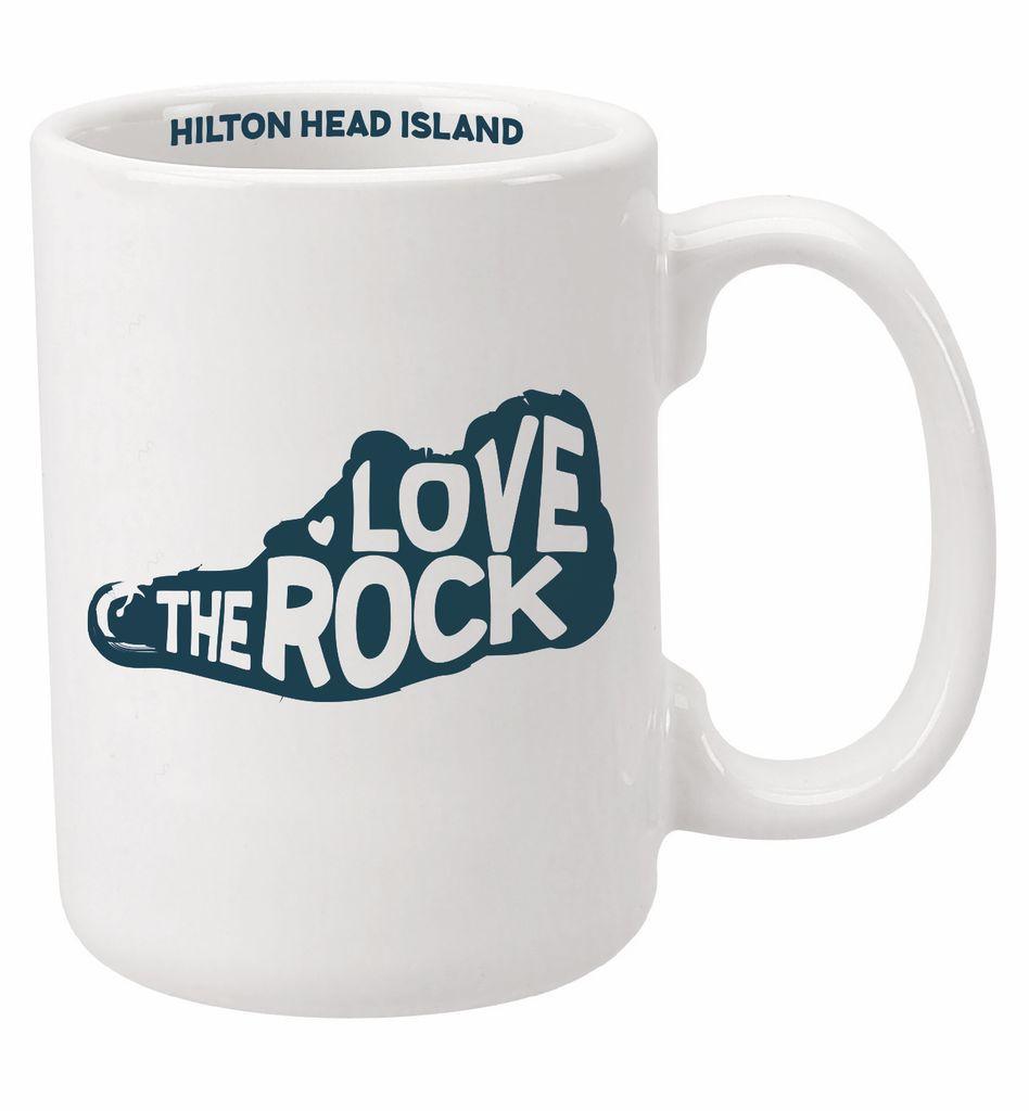 Product Love the Rock Coffee Mug