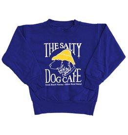 Sweatshirt Youth Crew Neck Sweatshirt in Deep Royal