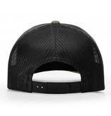 Hat Leather Patch Trucker Hat in Loden