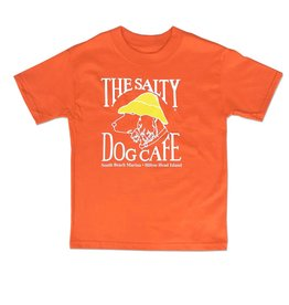 Hanes Hanes Beefy Youth Short Sleeve in Orange