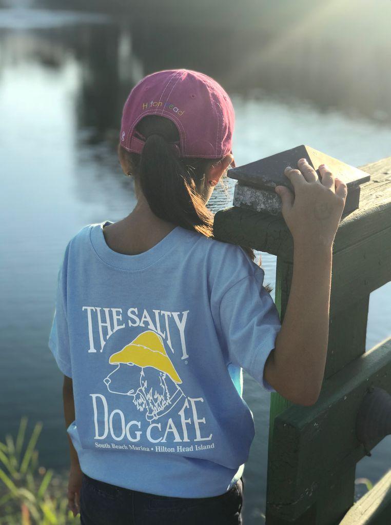 T-Shirt EZTee Youth Classic Coastal Blue