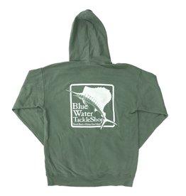 Sweatshirt Hooded Sweatshirt in Cypress