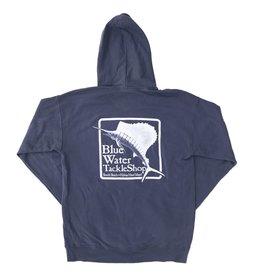 Sweatshirt Blue Water Hooded Sweatshirt in Anchor Slate