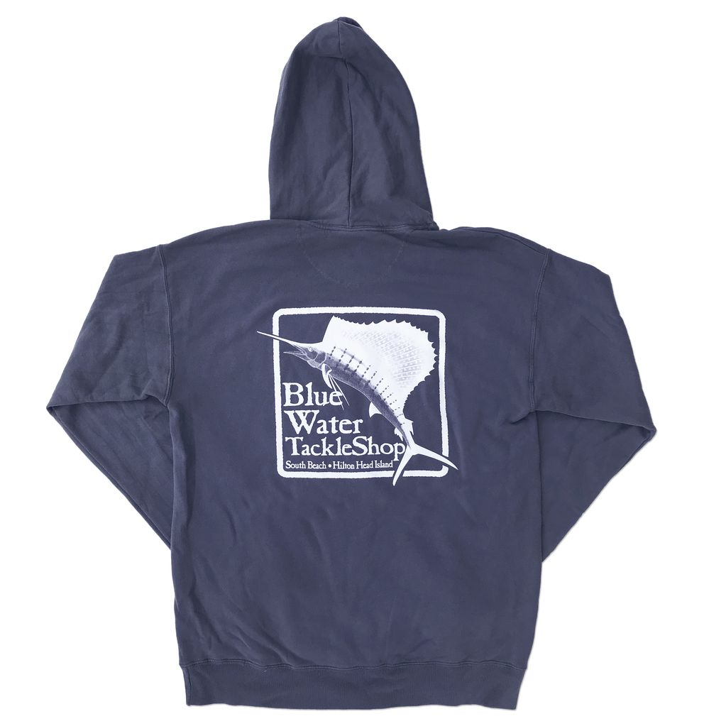 Sweatshirt Hooded Sweatshirt in Anchor Slate