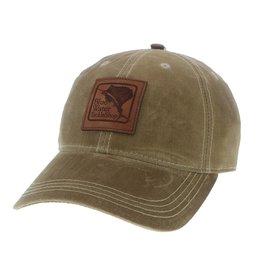 Hat Blue Water Wax Cotton Hat in Dark Tan