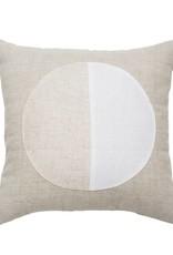 White Moon Pillow