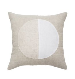White Moon Pillow