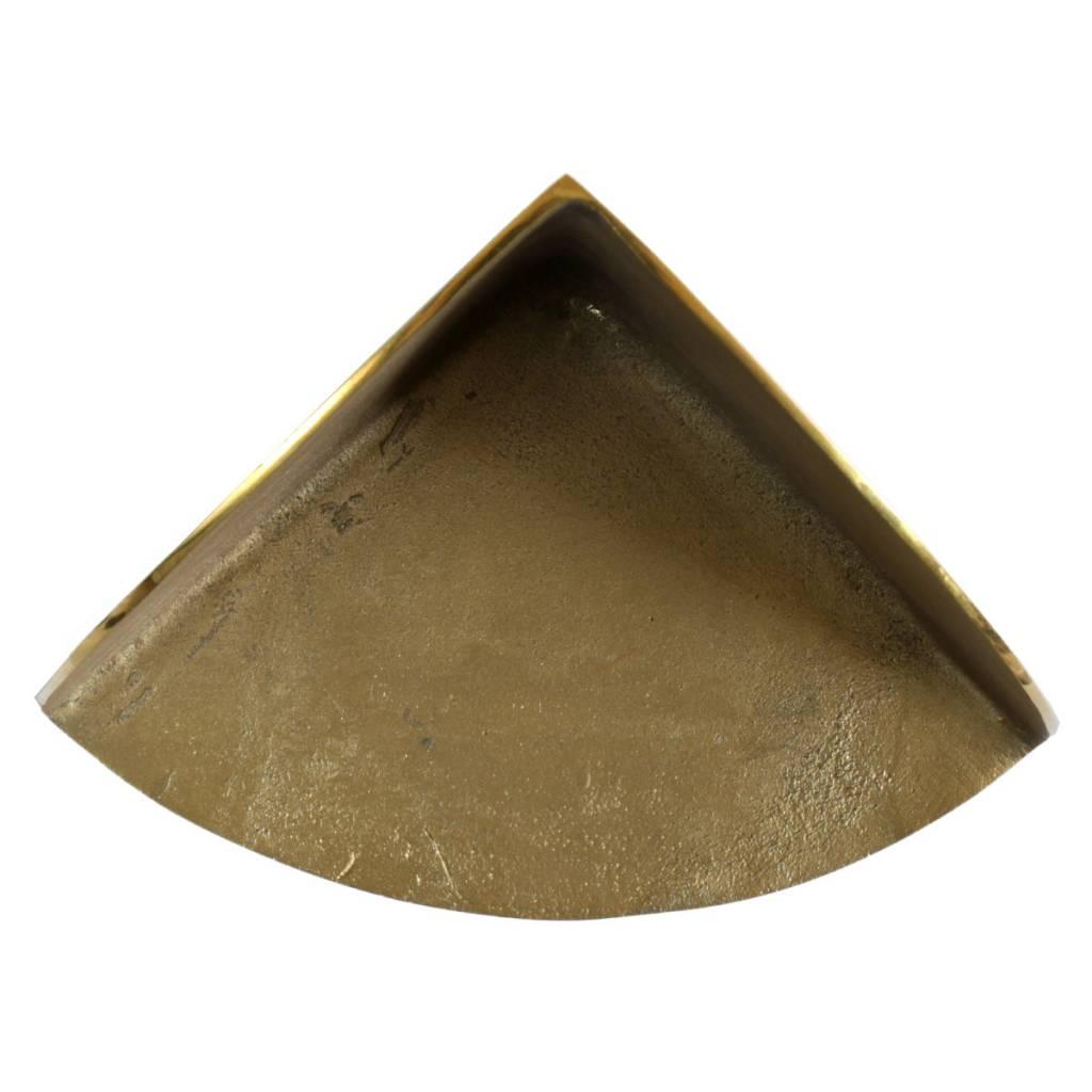 Brass Bookend