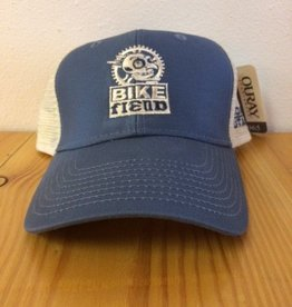 Ouray Bike Fiend Trucker cap Blue
