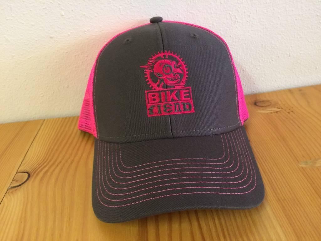 Ouray Bike Fiend Pink Baseball Cap
