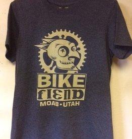 Ouray Bike Fiend Navy T-Shirt