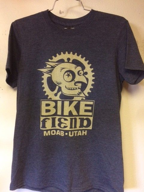 Ouray Bike Fiend Navy T-Shirt