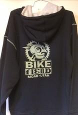 Ouray Bike Fiend Black Zip Hood *Heavy*