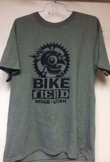 Ouray Bike Fiend Military Green T-Shirt