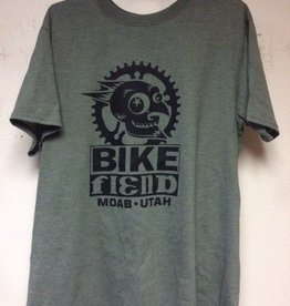 Ouray Bike Fiend Military Green T-Shirt