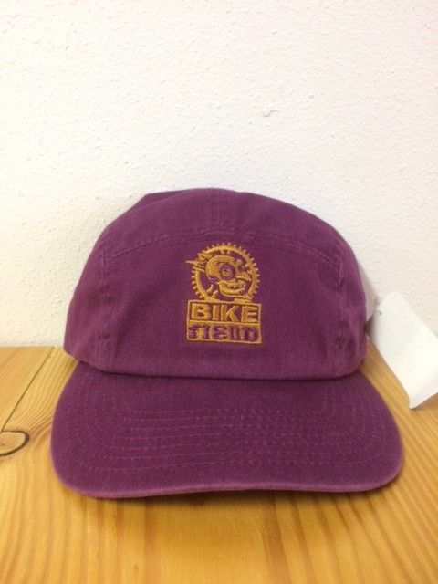 Ouray 5 Panel Purple Bike Fiend Hat